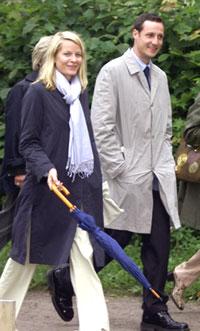 Mette-Marit og Haakon i Stockholm tidligere i år