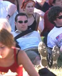 Haakon på Quartfestivalen 1999.