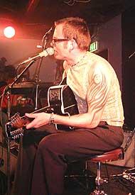 Bjørn Berge på Rallarn under Notodden Bluesfestival 2001 (foto: Per Ole Hagen).