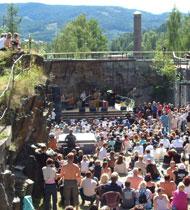Som i fjor lover årets billettsalg godt folkeliv under Notodden Bluesfestival.