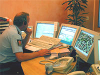Oslopolitiets operasjonssentral.