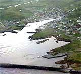 Filmlogoen skal markedsføre fiskeværet (Foto: Kjell Herning, NRK)