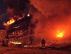 Bomba førte til store ødeleggelser i Drammen.