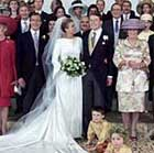 May 2001: Wedding in Haag