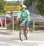 Skien kommune vil ha sykkelsti langs Skienselva.