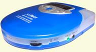 JazzPiper har de samme funksjonene som en bærbar CD-spiller.
