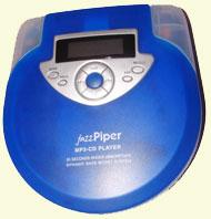Med JazzPiper kan du lagre MP3 samlingen din på CD.