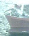 Journalister og fotografer får ikke komme om bord i skipet (foto: EBU).
