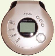 Soul DMP-01 er en gjenomført CD/MP3/WMA-spiller.