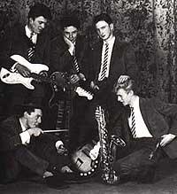 David Bowie og gruppa The Kon-Rads