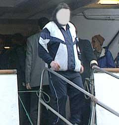 Senere på kvelden ble 35 åringen pågrepet av politiet i Tromsø. (Foto: NRK)