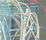 Med bredbånd går dataoverføring mye raskere.