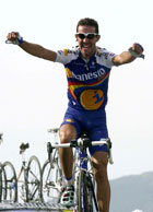 Mercado kunne juble i det han passerte mål. (Foto: Scanpix-AP)