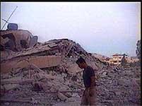 Israel hevder at operasjonene var rettet mot terroristbaser
