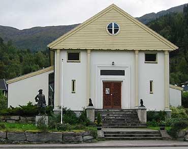 Anders Svor Museum ligg på Grodås. (Foto: Arild Nybø © 2001)