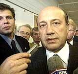 Den russiske utenriksministeren Igor Ivanov. (Foto: NRK)