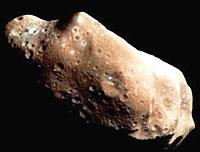 Asteroiden Ida er en av 27 000 asteroidene som finnes.
