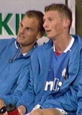 Mye benketid for Tore Andre Flo i Glasgow Rangers.