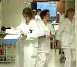 De ansatte ved sykehusene i regionen har ikke fått noen informasjon fra ledelsen.