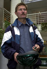 POSITIVT FOR TILLITEN: Hovedtillitsvalgt Rolf Utgård i Kværner mener milliontilsagnet fra de ansatte er positivt for tilliten til selskapet.
