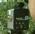 Er det dette ordføreren ønsker seg? Politiet med laser for å måle farten. (Arkivfoto)