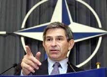 USAs viseforsvarsminister Paul Wolfowitz. (Reuters-foto)