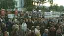 Magnesiumfabrikken blei lagt ned til store protester.