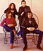 Black Sabbath med Ronnie James Dio som vokalist. Foto: Promo.