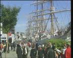 det blir ikkje ny folkefest rundt segl-skutene i Ålesund i 2008.