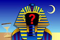 Pyramidespillet er et kunnskapsspill hvor spilleren må svare på ja/nei-spørsmål.