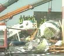 118 personer omkom i flyulykken på Linate-flyplassen i Milano. (Arkivfoto)