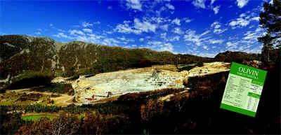 Amerikanske Norht Cape Minerals har kjøpt staten sin halvdel i AS Olivin på Åheim i Vanylven.