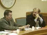 Fra rettssaken mot Espen Bowitz Andersson (til venstre)