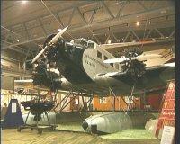 Junkers 52 i Norsk Luftfartsmuseum i Bodø. Foto: NRK.