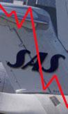 NEDOVER: SAS taper fortsatt på innenlandsrutene. Men nå øker Braathens og Widerøe.