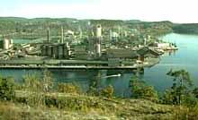 Slam frå Frierfjorden kan bli dumpa i Gunneklevfjorden.
