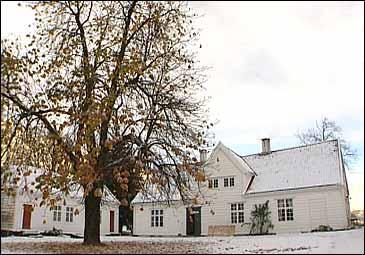 Futegarden på Bruland. (Alle foto: Steinar Lote, NRK)