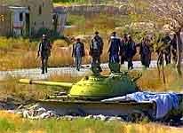 Soldater fra Nordalliansen i Afghanistan.