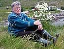 Johs Røde i aksjonsgruppen Lofoten mot Sellafield.