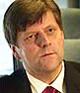 Næringsminister Ansgar Gabrielsen