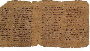 En side av en koptisk bibeloversettelse fra det 3.århundre, verdens eldste bok i privat eie, fra samlingen til Martin Schøyen