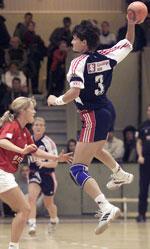 Kjersti Grini tror Hammerseng kommer til å blie en viktig spiller for Norge i framtiden.
