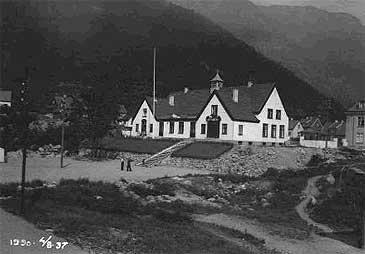 Folkets hus i 1937. (© Hydro)