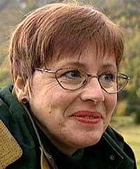 Utdanningsforbundets leder Helga Hjetland.