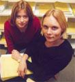 Programleder Eva Westvik og Kaja Kjerschow saksbehandler i Utlendingsdirektoratet (UDI).