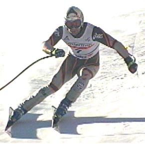 Stefan Eberharter sørget for fortsatt østerriksk dominans i årets alpinsesong.