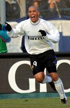 Ikke mer Inter-drakt for Ronaldo. (Foto: AP)