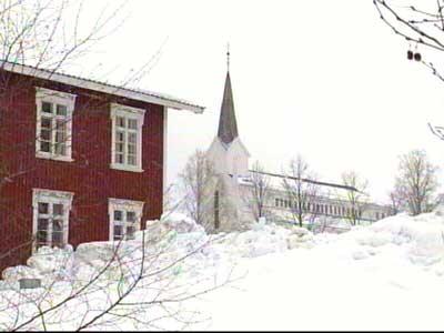 Gjerstad kirke - her var Nissen på besøk