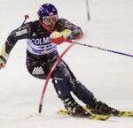 RASK: Truls Ove Karlsen var best av de norske i Sestriere (Foto: Scanpix).