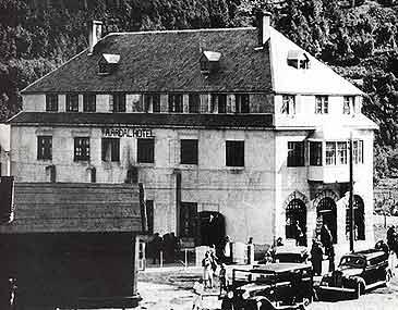 Aardal hotell i 1937. (Foto © Årdal kommune)